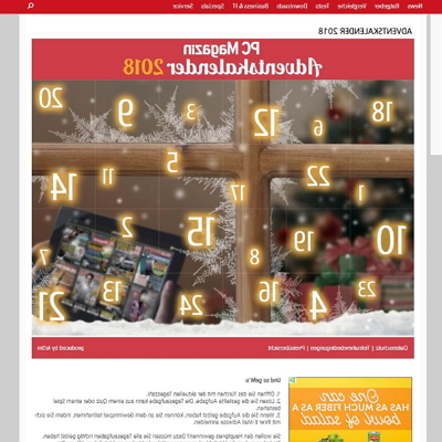 ​pc-magazin.de & connect.de Adventskalender