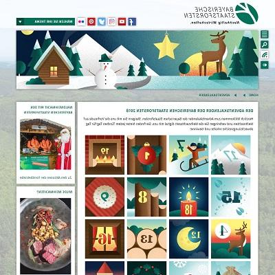 Bayerische Staatsforste Adventskalender