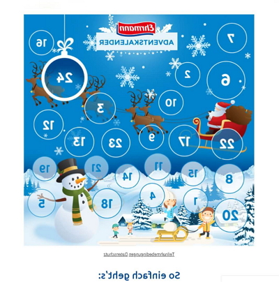Ehrmann Adventskalender