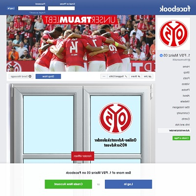 FSV Mainz 05 Adventskalender Facebook