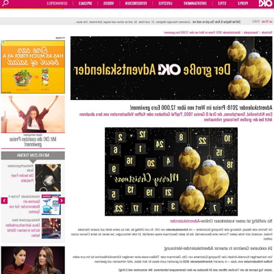 OK! Magazin Adventskalender