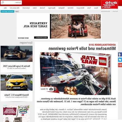 auto motor und sport.de Adventskalender