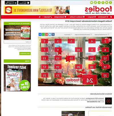 foodies-magazin.de Adventskalender