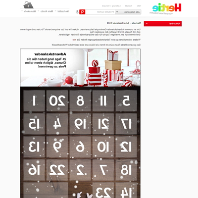 hertie adventskalender