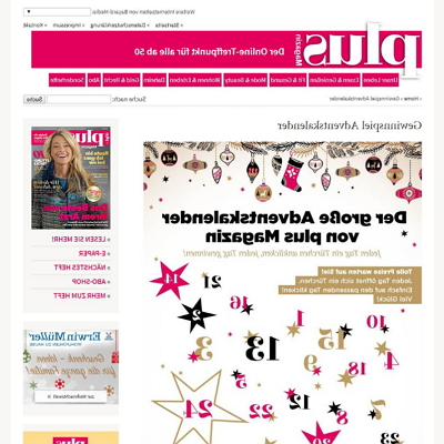 plus-magazin.com Adventskalender