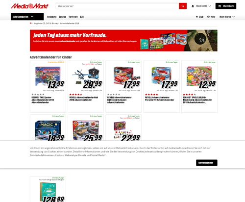 Media Markt Adventskalender 2019