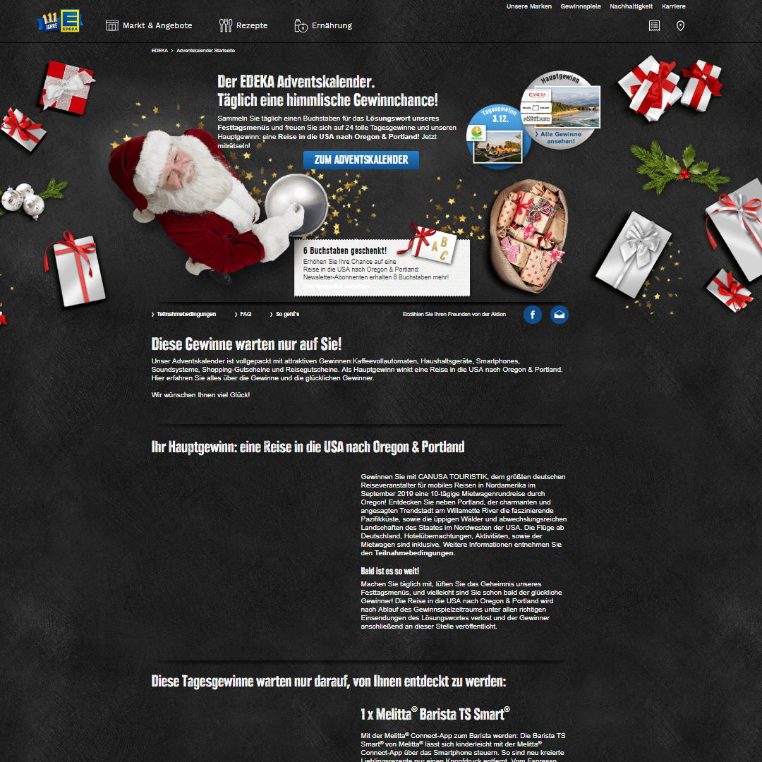 edeka homepage
