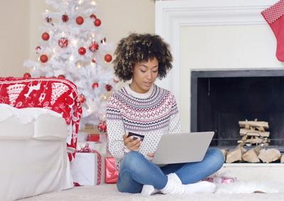 mit einem online Weihnachtskalender