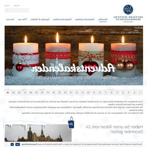Stiftung Denkmalschutz adventskalender