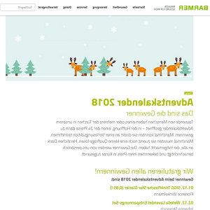 barmer adventskalender