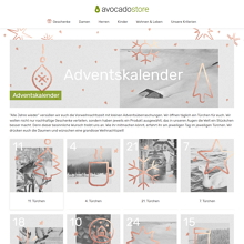 Avocadoshop Adventskalender