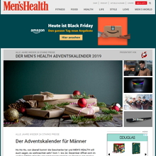 Mens Health Adventskalender