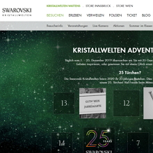 Swaroski Adventskalender