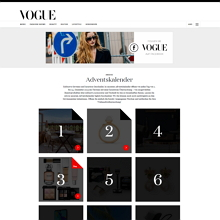 Vogue Adventskalender