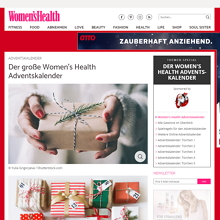 Womens Health Adventskalender