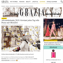 grazia adventskalender