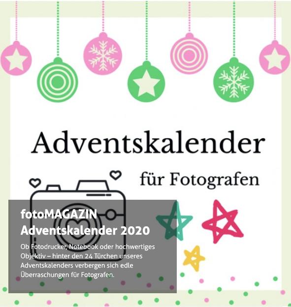 fotoMAGAZIN Adventskalender 2020