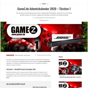 gamez adventskalender