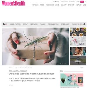 womenhealth adventskalender